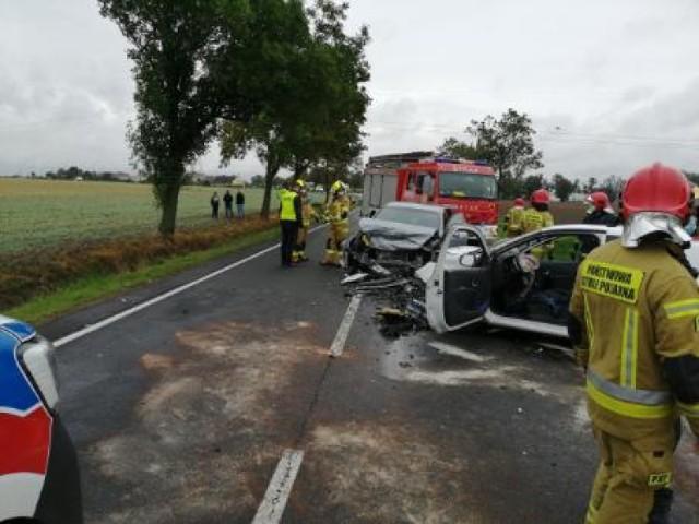 Gmina Czerniejewo: kolejny wypadek na DK 15 w Czeluścinie