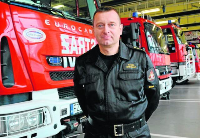 St. kpt.Paweł Grzymała: Najczęstsze przyczyny emisji czadu to niesprawne urządzenia grzewcze, niedrożne instalacje wentylacyjne.