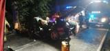 Gmina Przywidz. Śmiertelny wypadek koło Trzepowa. 20-letni kierowca poniósł śmierć na miejscu  ZDJĘCIA
