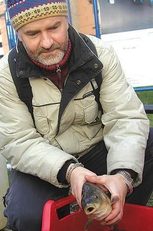 Szef Gai, Jacek Bożek przewodził wczoraj akcji ekologów.