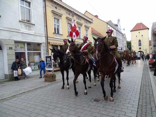 Uroczystości z okazji 100-lecia chełmińskich kawalerzystów odbyły się w sobotę, 25 września.