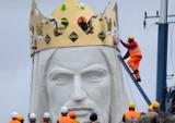 Pomnik Chrystusa Króla ma już dziesięć lat. Przypominamy unikalne zdjęcia z jego budowy
