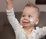 Wiktorek Kruszyński wrócił już ze szpitala. Chłopczyk czuje się lepiej