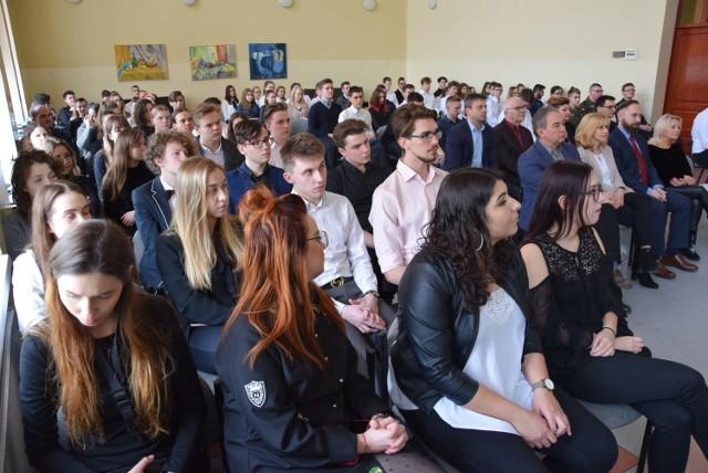 Technikum Budowy Fortepianów w Kaliszu świętowało Dzień Patrona. Gościem honorowym była Elwira Fibinger