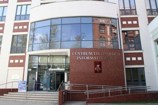 Siedziba centrum technologii informatycznych PŁ.
