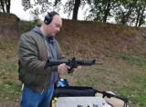 Trening na strzelnicy Kurkowego Bractwa Kurkowego w Krotoszynie [ZDJĘCIA]