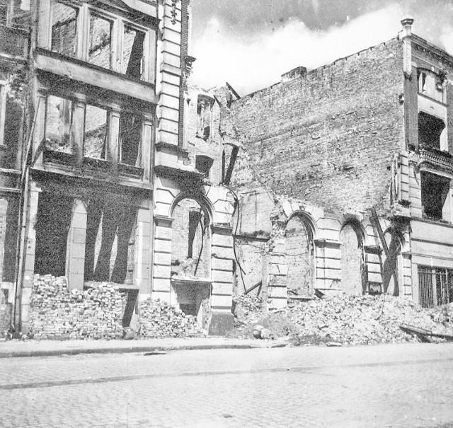 Grudziądz w czasie wojny był zniszczony w 60%. Zobacz archiwalne zdjęcia