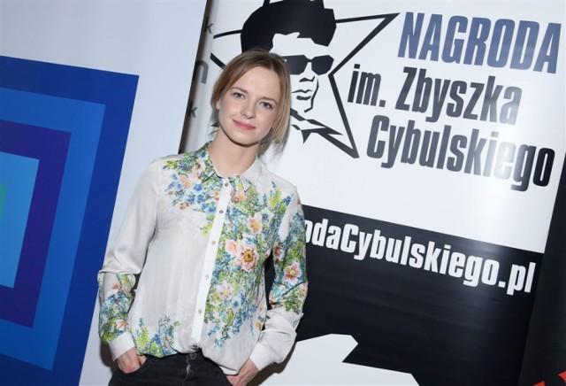 Marta Nieradkiewicz - laureatka Nagrody im. Zbyszka Cybulskiego.