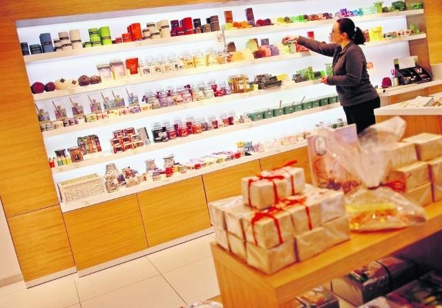 Możemy sami sobie skomponować zestaw kosmetyków, np. do kąpieli, kupując ich niewielkie ilości