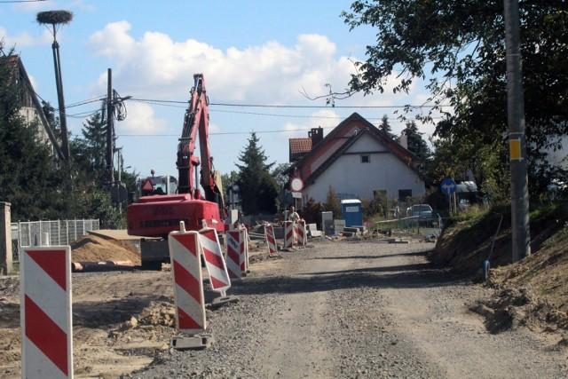 Remont ulicy Szczytnickiej w Legnicy, drugi etap.
