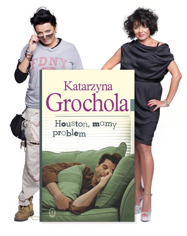 """Autorka będzie promowała swoje najnowszą książkę """"HOUSTON, MAMY PROBLEM!"""" Szykuje się pełna przygód, zaskakująca powieść – jak zwykle utrzymana w błyskotliwym, pełnym humoru stylu - która nie tylko z pewnością podbije serce dotychczasowych czytelniczek Katarzyny Grocholi, ale ma szansę zdobyć nowych fanów - także wśród mężczyzn."""