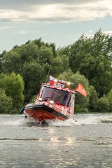 Wodny Zespół Ratownictwa Medycznego rozpoczął dyżury nad zbiornikiem Jeziorsko (ZDJĘCIA)