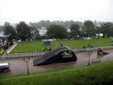 Szczeciński deszcz. Odwołany Red Bull [zdjęcia]