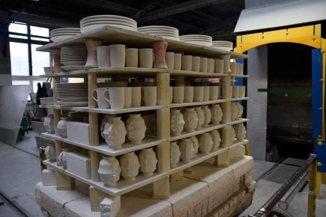 Randkowy pokaz porcelany