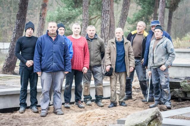 Koniec budowy lapidarium we Wronkach