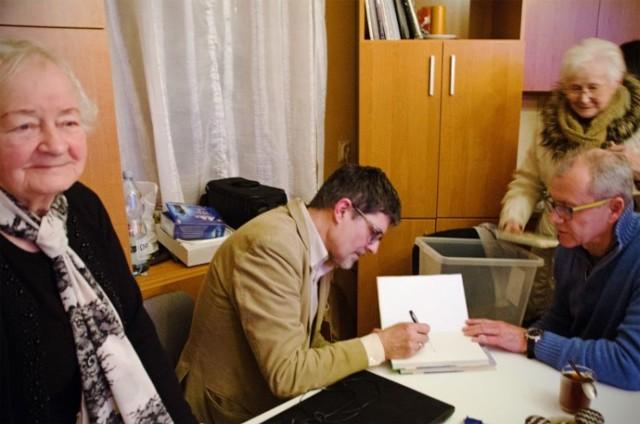 Piotr Sobolewski opowiadał o sekretach Kalisza mieszkańcom osiedla Ogrody