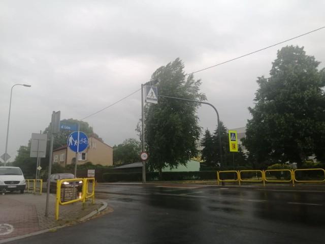 Burze i ulewy przeszły we wtorek, 22 czerwca, nad powiatem bełchatowskim