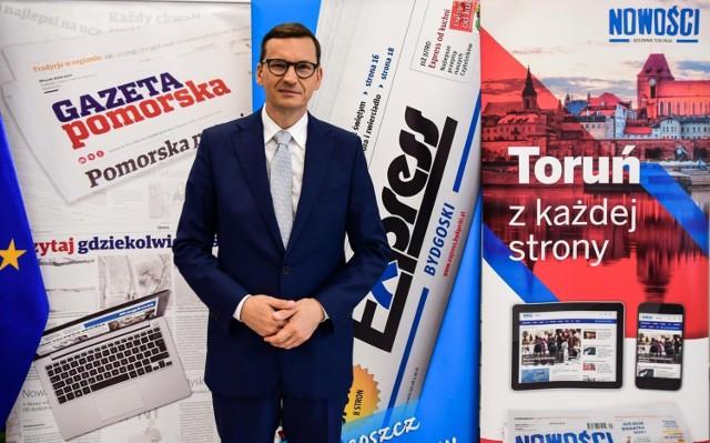 - Przez 25 lat Toruń, Bydgoszcz i całe województwo czekało na S10, która wtedy nie powstała. Nasi poprzednicy nie byli w stanie zapewnić jej finansowania - mówi premier Mateusz Morawiecki.