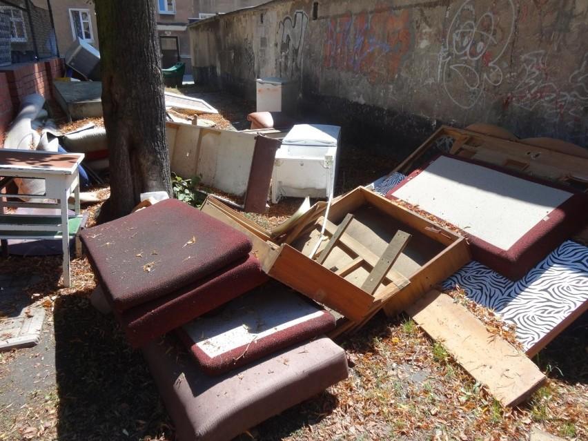 Dzikie wysypiska podrzuconych śmieci pojawiają się kilka...