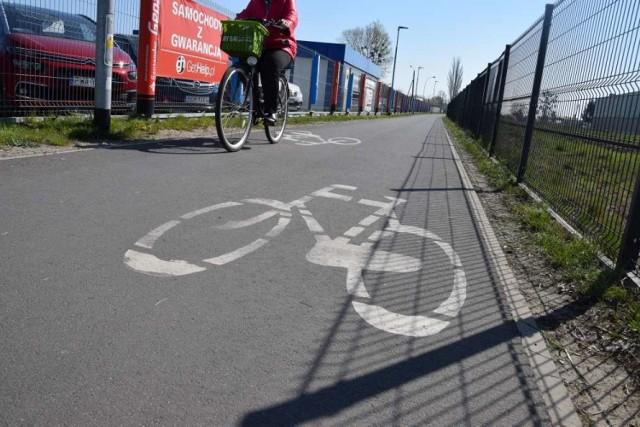 Gdzie w Wągrowcu aktualnie są ścieżki rowerowe? Zobacz w galerii