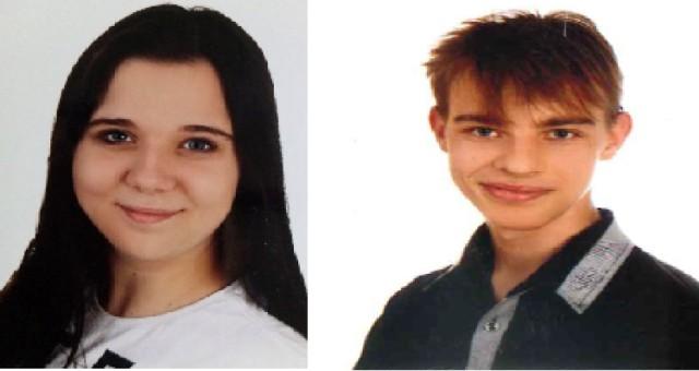 Policjanci z Komendy Powiatowej Policji w Chojnicach poszukują 15-letniej Oliwii Litwin i 16-letniego Krzesimira Bieska