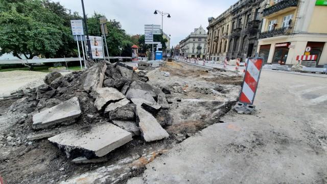 Remont ulicy Śródmiejskiej w Kaliszu