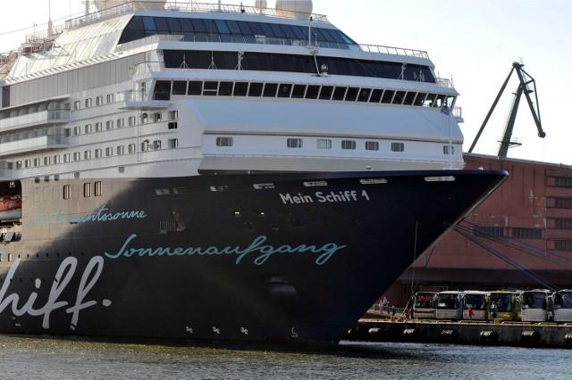 Wycieczkowce 2018 w Gdyni. Mein Schiff 1 przypłynie 21 maja 2018