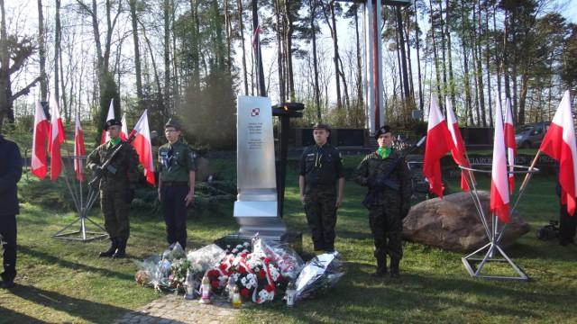 Obchody 7. rocznicy katastrofy smoleńskiej w Zielonej Górze.