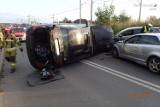 Wypadek w Rybniku. Jadąc BMW wjechał w hyundaia - był naćpany? Pasażerka miała przy sobie narkotyki