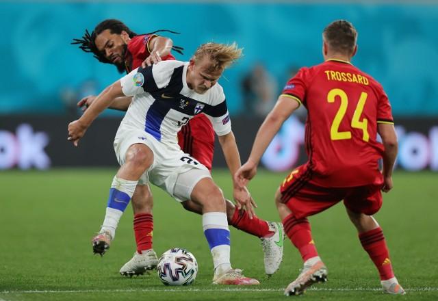 Euro 2020. Finlandia - Belgia 0:2 (0:0)