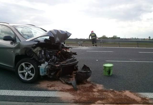 Groźny wypadek w Woźnikach