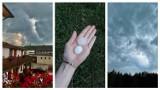 Ciemne chmury i grzmoty nad województwem lubelskim. Zobacz zdjęcia Czytelników