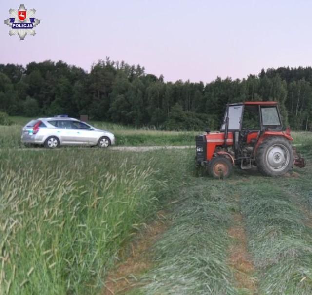 Gmina Goraj: 57-latek zginął podczas koszenia łąki