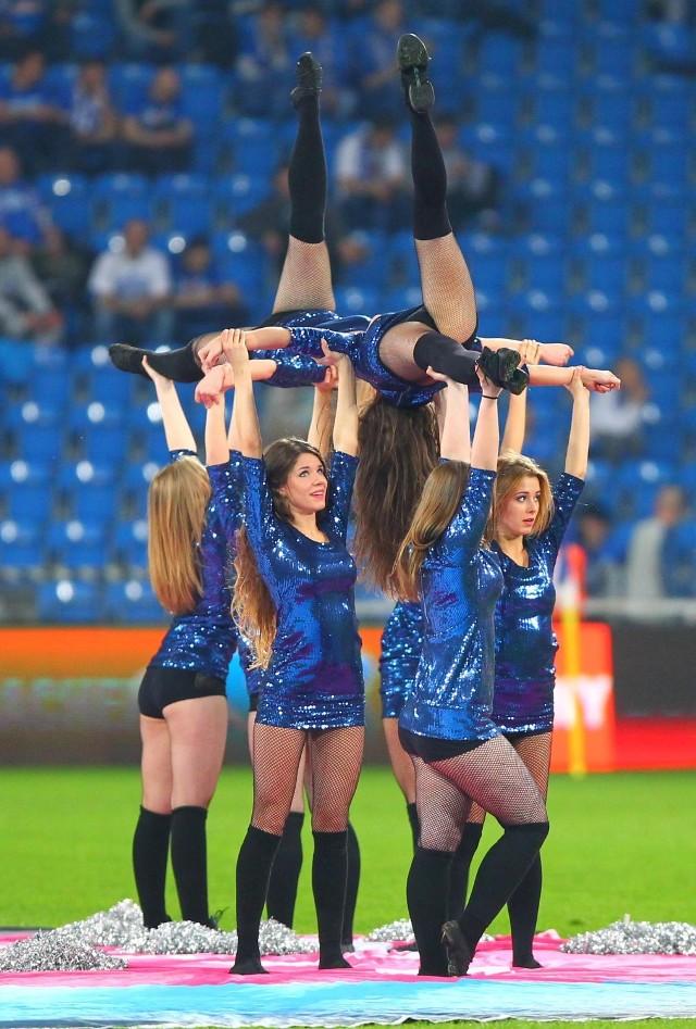 Kolejorz Girls na meczu Lech Poznań - Wisła Kraków