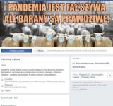 Na FB zawiązała się grupa koronasceptyków z Łowicza i okolic