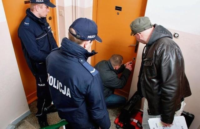W mieszkaniu przy ulicy Słowackiego komornik nie zastał wczoraj zadłużonej lokatorki