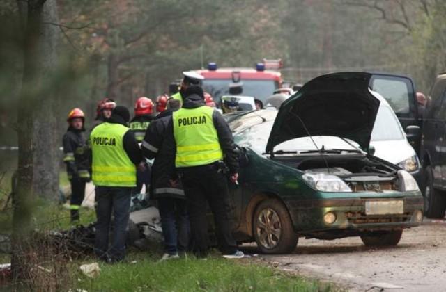 Tragiczny wypadek w Klamrach