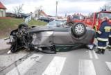 Lublewo: Groźny wypadek na drodze nr 221 [ZDJĘCIA]