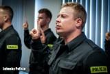 Pierwszy pościg policjanta ze Świebodzina. Jeszcze przed ślubowaniem zatrzymał podejrzanego