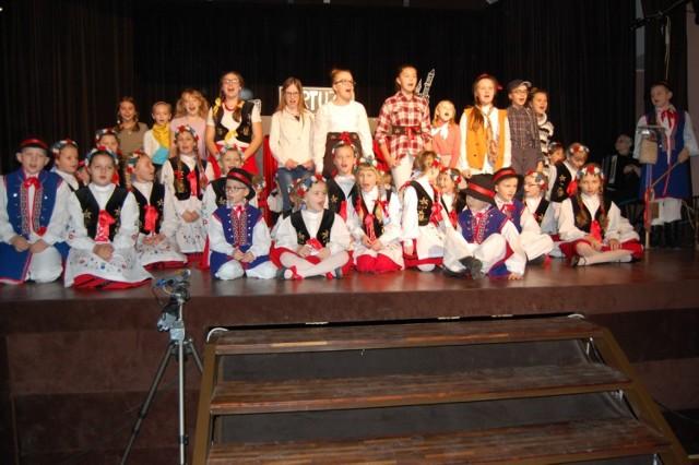 Golińce na kaszubskich dróżkach - prapremiera spektaklu uczniów kartuskiej Jedynki