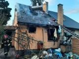 Pożar w Czajczu. 6 osobowa rodzina bez dachu nad głową