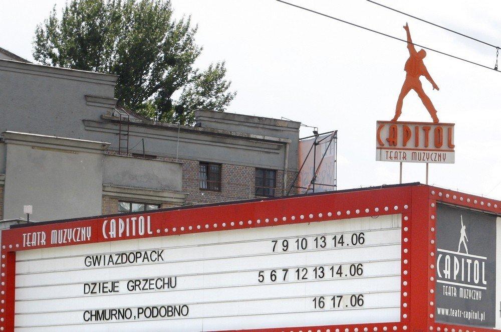Teatr Muzyczny Capitol Taka Capitolna Scena Naszemiastopl