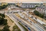 Uwaga, tramwaj! Spore zmiany na Kujawskiej w Bydgoszczy i próbne przejazdy [mapy]
