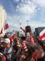 Ostrowianie na obchodach 75. rocznicy wybuchu Powstania Warszawskiego w stolicy