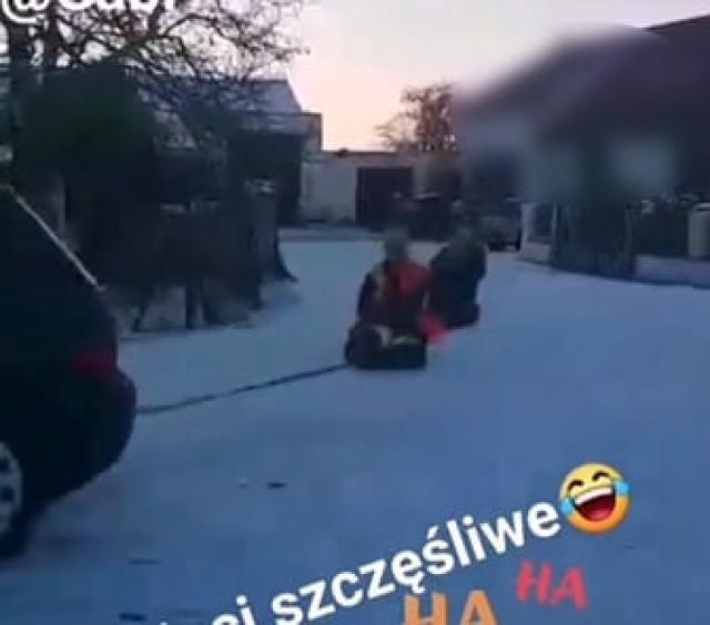 Gmina Łubowo. Mandat dla mieszkanki za zorganizowanie kuligu