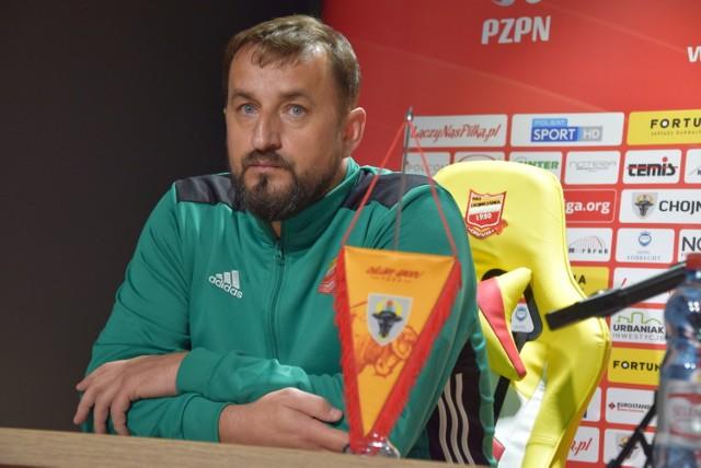 Zbigniew Smółka w środę, 6 listopada 2019 roku objął funkcję trenera Chojniczanki Chojnice