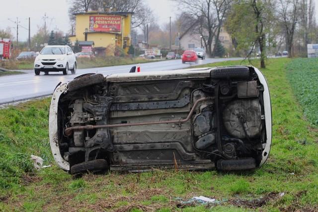 Wypadek w Wilczycach