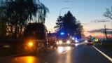 Wypadek w Celbowie: zderzenie Vivaro z Passatem. Jedna osoba ranna została zabrana do szpitala | NADMORSKA KRONIKA POLICYJNA
