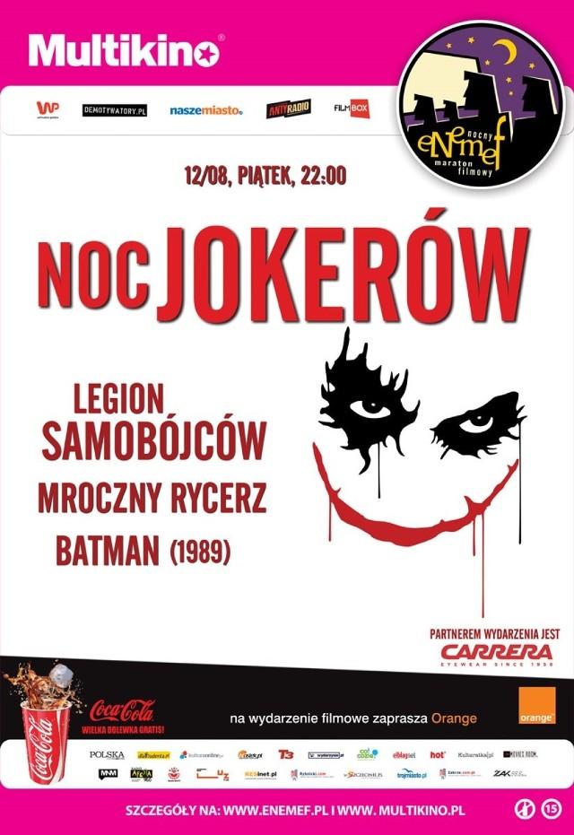 ENEMEF: Noc Jokerów. Wygraj podwójne zaproszenie na wyjątkowy maraton [KONKURS]