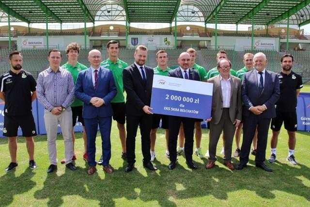 GKSBełchatów rozpoczyna nowy sezon z PGE i 2 milionami